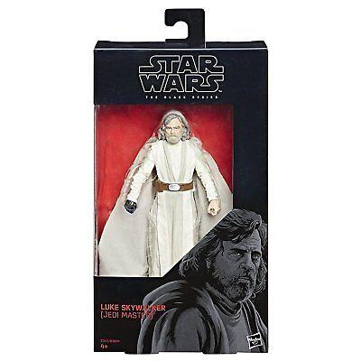 Star Wars Black Series Luke Skywalker Jedi Master In Stock