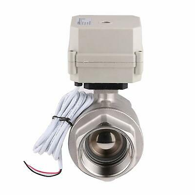 2 Inch Motorized Ball Valve Ac 110v Cr2-02 Electric Ball Valve Stainless Steel
