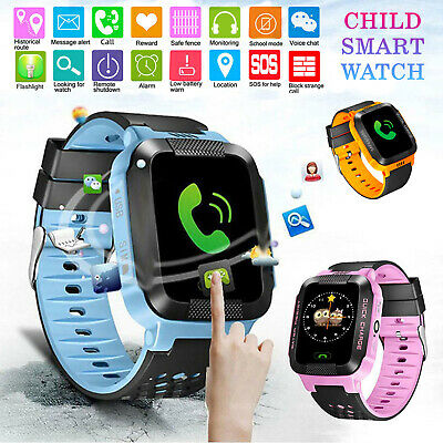 Waterproof Kids Smart Watch Anti-lost Safe Tracker SOS Call Wrist Children
