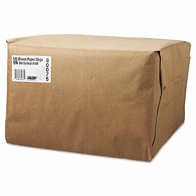 General 16 Bbl Paper Grocery Bag 52lb Kraft Standard 12 X 7 X 17 500 Bags