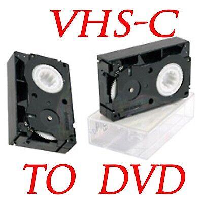 VHS-C to DVD Copy Transfer - High Quality - NTSC / HOME MOVIE