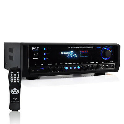 Pyle PT390BTU Bluetooth Digital Home Theater Stereo Receiver