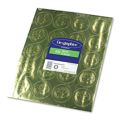 Geographics Gold Foil Embossed