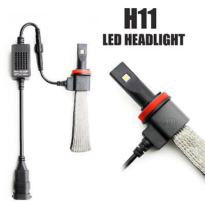 JDM ASTAR 2x 6th Gen 5600LM CREE H11 H8 Xenon White LED Headlight Conversion kit