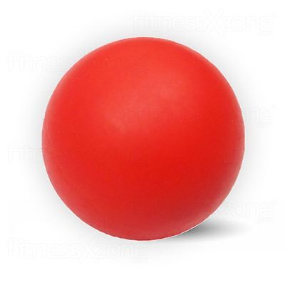 Lacrosse Ball Lacrose Trigger Point Massage Rehab Physiotherapy Crossfit Red