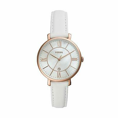 Fossil Women Jacqueline Three-Hand Leather Watch ES4579