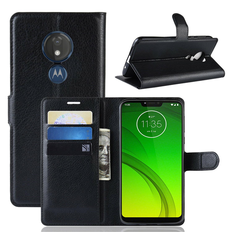 Handy Tasche Motorola Moto G7 Power Klapptasche Flip Cover  Schutz Hülle Etui