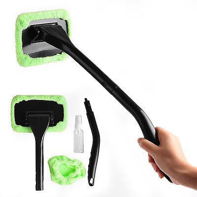 1 Microfiber Windshield Clean Car Auto Wiper Cleaner Glass Window Tool Brush Kit