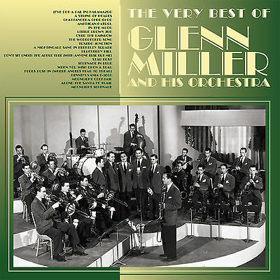 CD VERY BEST OF GLENN MILLER & HIS ORCHESTRA STRING OF PEARLS IN THE MOOD