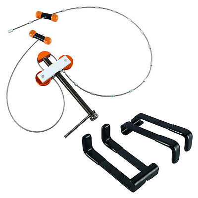Metal D Ring U Nock Bowstring Safety Rope Bow Buckle Hunting Accessories U ga