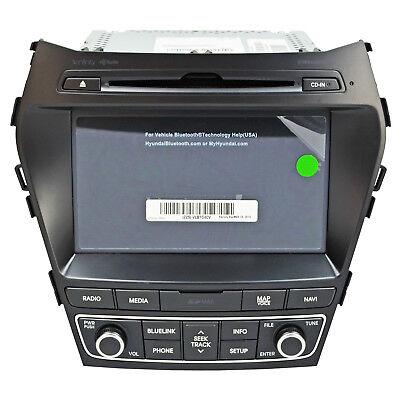 OEM Factory Radio Navigation System Head Unit For Hyundai Santa Fe Infiniti  for sale  Shipping to Canada