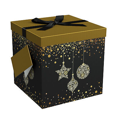 Christmas Gift Box - Gift Boxes with Lids - Starlight Gift Box - EndlessArtUS - Christmas Boxes