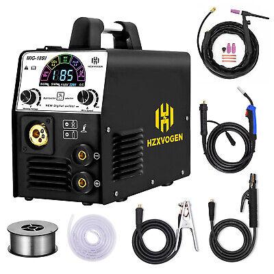 4in 1 Led Mig Welder 220v Gas Gasless Arc Tig Mig Welding Machine W Tig Torch