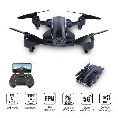 Foldable GPS drone with 1080P HD camera 5G wifi FPV RC quadcopter HQ912 tapfly