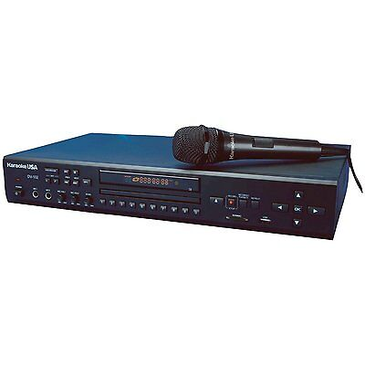 Karaoke USA DV102 Karaoke Player w/ Remote, and 1 Microphone