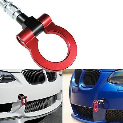 RED TOW HOOK FOR BMW E60 E63 E65 E46 E81 E30 E36 E90 E91 E92 E93 F10 F30 M3 M5 M