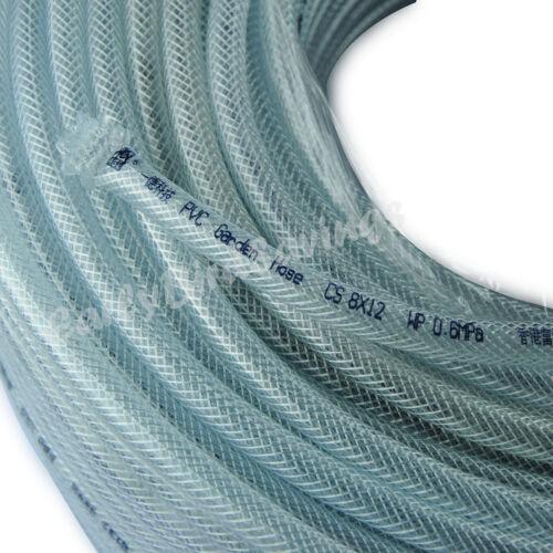 12mm Clear Flexible PVC Tubing Chemical Resistant Vinyl Hose Water Oil by 1meter & 12 mm Tubos De Pvc Flexible Transparente Manguera de vinilo ...