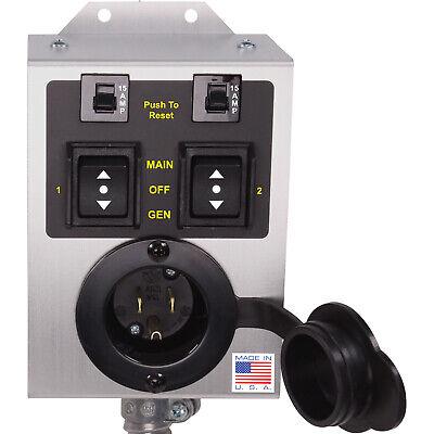 Journeyman-pro 2 Circuit Generator Transfer Switch Kit 1875 Watt 15a 110v Tf151w