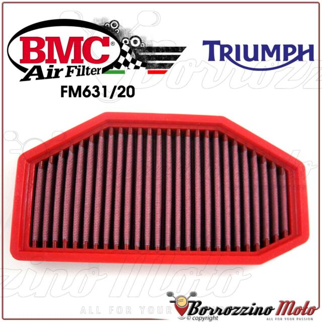 AIR FILTER PERFORMANCE WASHABLE BMC FM631/20 TRIUMPH SPEED TRIPLE 1050 2011 11