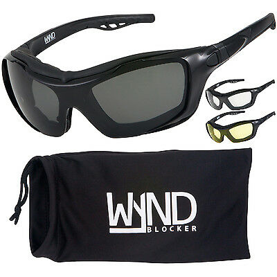 329 Glasses - WYND Blocker Motorcycle Sunglasses Sports Boating Motorsports Driving Glasses