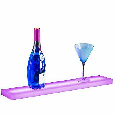 24 Led Lighted Back Bar Liquor Display Shelf Wine Bottle Stand Rack W 44key Rc