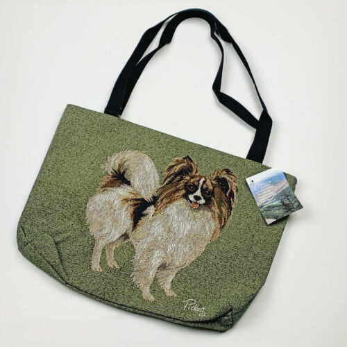 Papillon Tapestry Tote Bag by Artist, Linda Picken