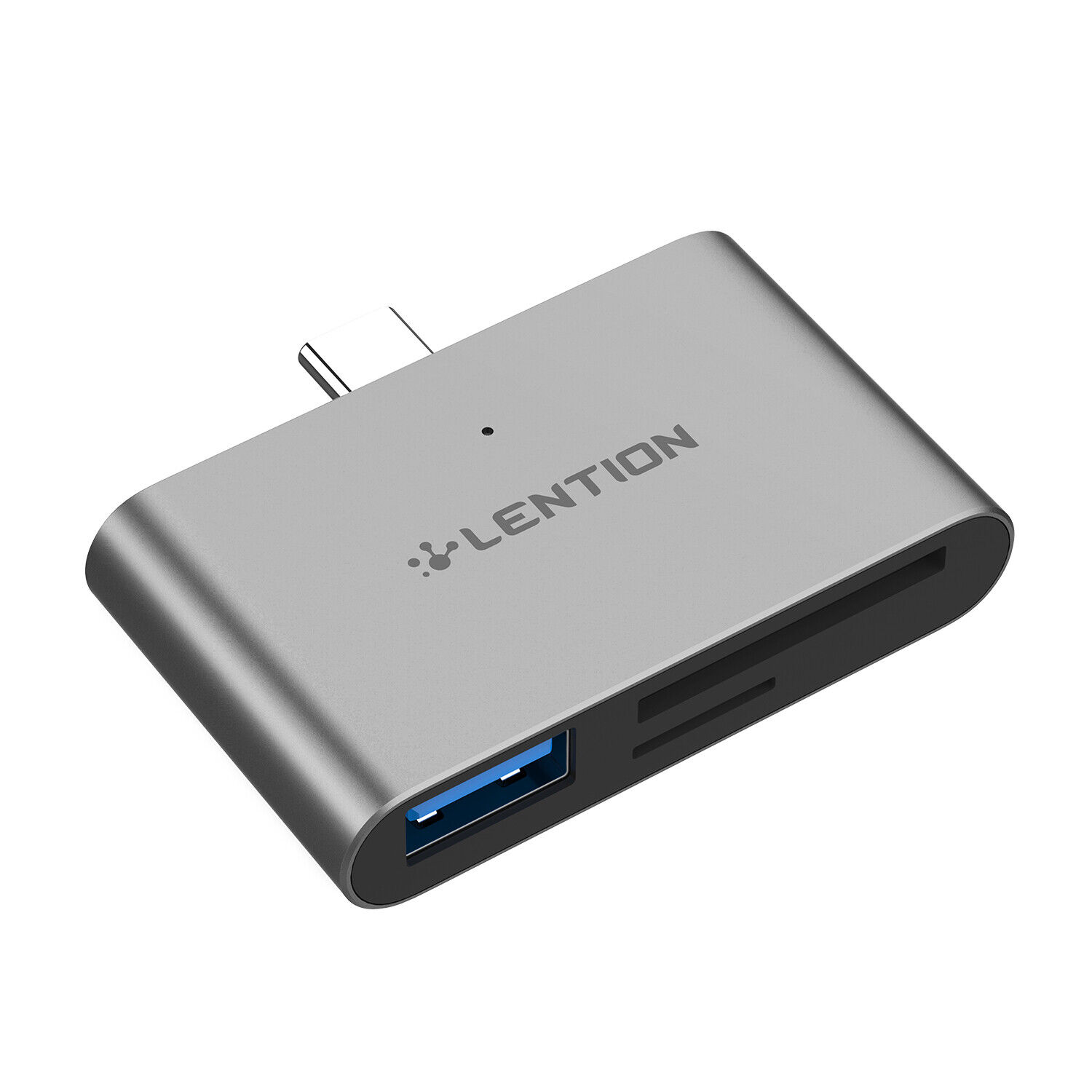 LENTION USB-C HUB to USB 3.0 OTG Adapter SD Card Reader for 2019 MacBook Samsung