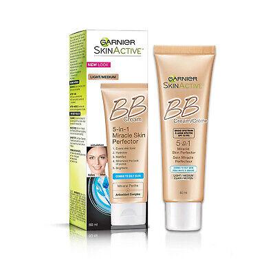 Garnier SkinActive BB Cream Oil-Free Face Moisturizer, Light
