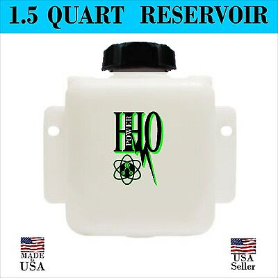 1.5 Quart Reservoir Tank Hho Bubbler Dry Cell Hydrogen Generator Fs