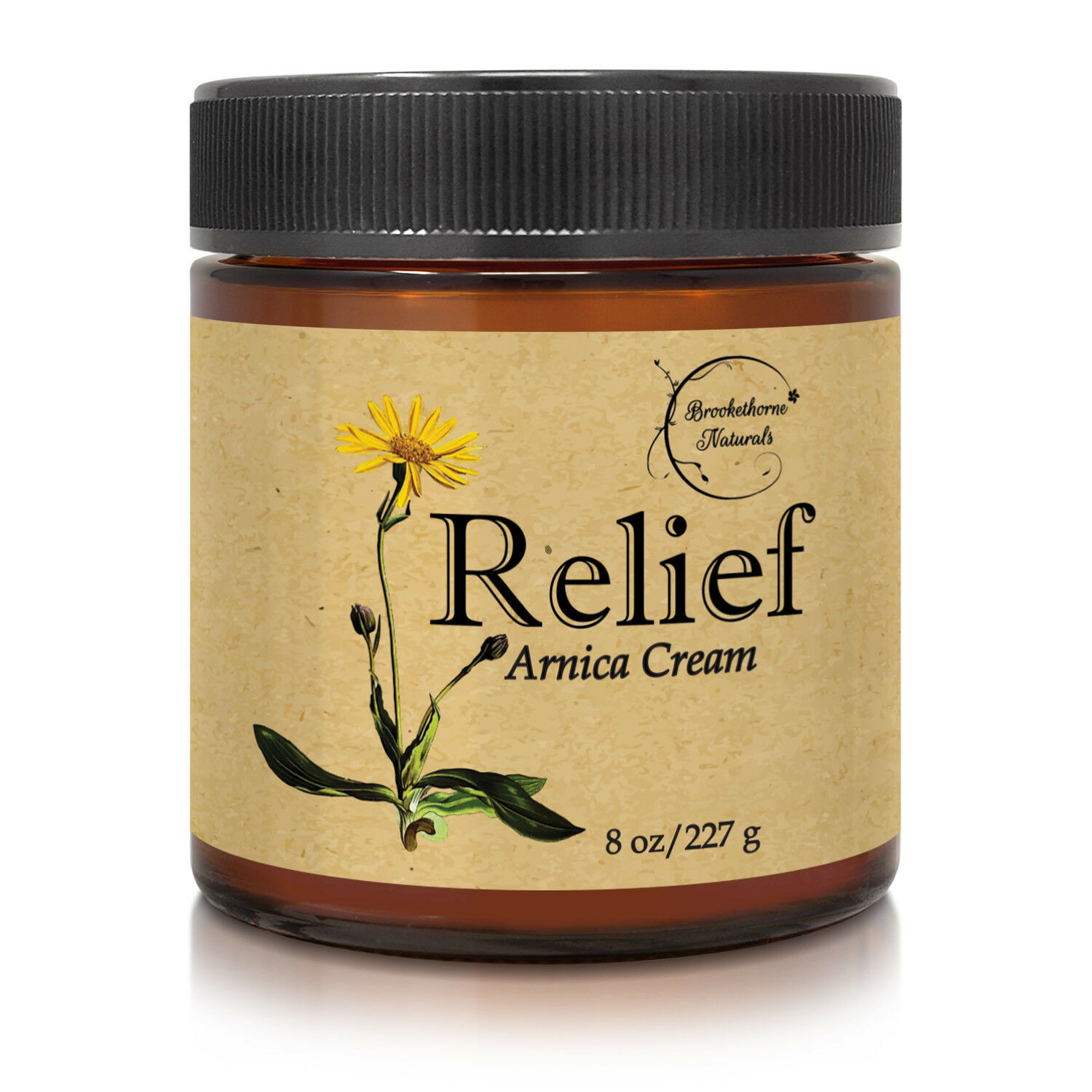 Relief Arnica Cream – Enriched with Lemongrass, Eucalyptus