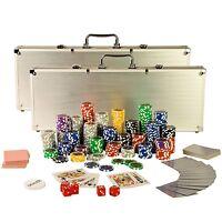 Maleta Poker Juego De Póker Póquer Set 1000 Láser Fichas Póker -  - ebay.es