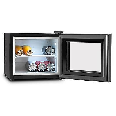Getränkekülschrank Minibar Mini Kühlschrank Kühlbox LED Hotel Schwarz 10L ()