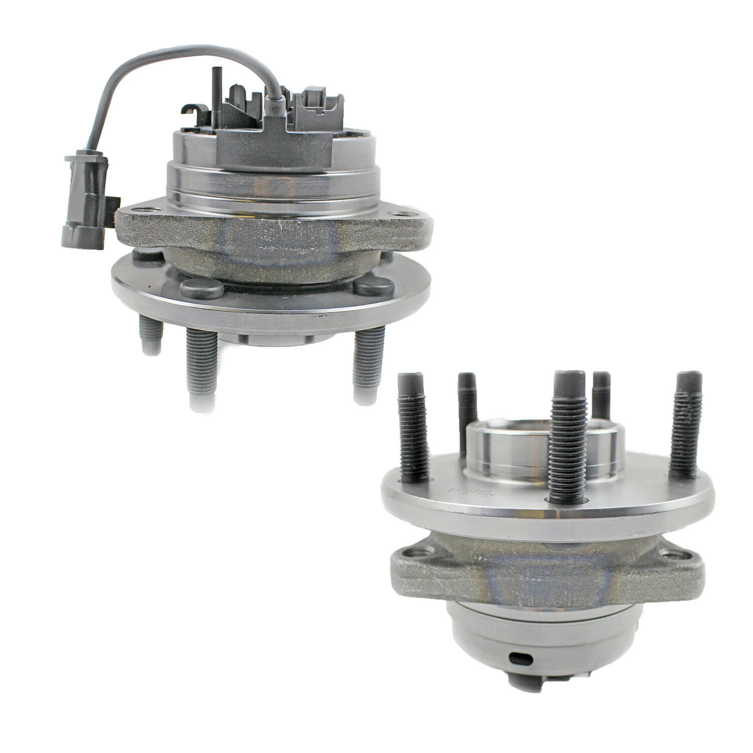 Pair Of 2 Wheel Hub And Bearing Assembly Front For Chevy