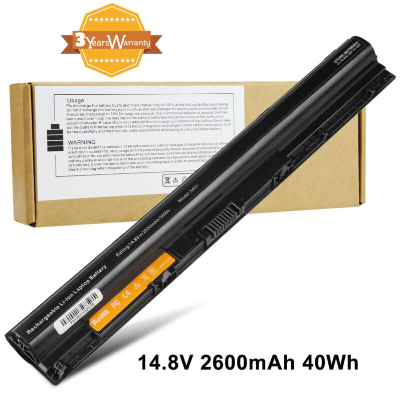 For Dell 3451 M5Y1K 4 Cell Laptop Battery 14.8V 40WH Fast Ship