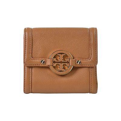 NEW Tory Burch AMANDA French Tri-fold Wallet Royal (French Tri Fold)