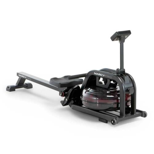 Water Rowing Machine Indoor Water Rower | Marcy NS-6070RW Cardio Adjustabl Resis