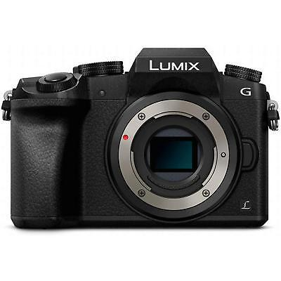 Panasonic Lumix DMC-G7 Mirrorless Micro 4/3 Digital Camera Body Only Black NEW!