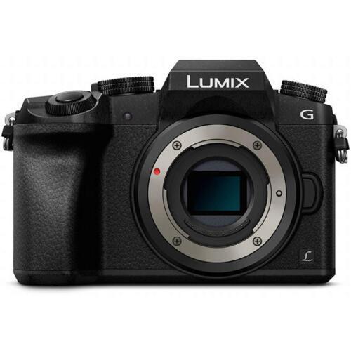 NEW Panasonic Lumix DMC-G7 Mirrorless Micro 4/3 Digital Camera Body Only Black