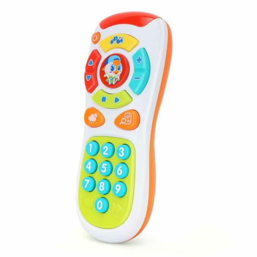 Zooawa Baby Kids Cartoon Music Early Learning Toy Remote Con