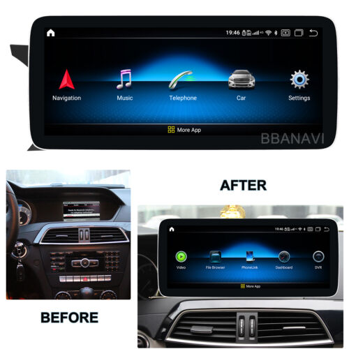 Android10 12.3 1920Screen Car Multimedia GPS for Benz C class W204 S204G NTG4.5