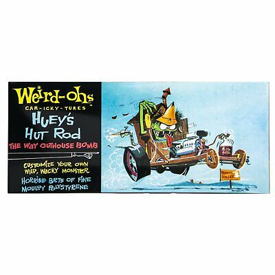 Hawk Model Company Weird-Ohs Hueys Hut Rod The Way Outhouse Bomb Monster (The Hut Deals)