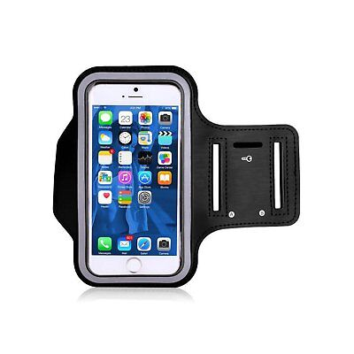 """TRIBE Water Resistant Cell Phone Armband Case for iPhone 8, 7, 6, Samsung, 5.2"""""""