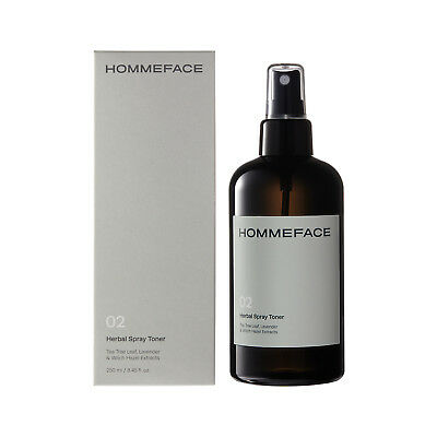 Herbal Spray Facial Toner for Men |Tea Tree, Lavender & Witch Hazel (8.45 fl oz)