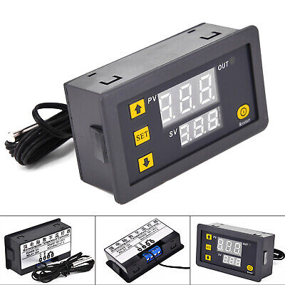 Temp Temperature Controller Control Led Digital Power 20a Display Dc 12v New