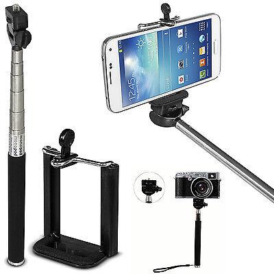 Monopod Handheld Selfie Stick Extendable Holder For Camera iPhone Samsung GoPro