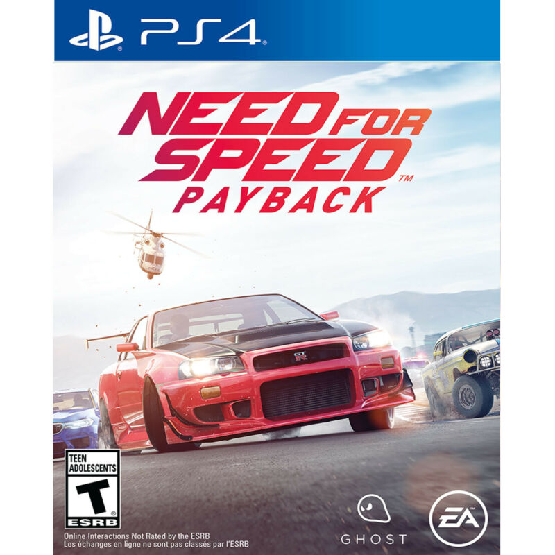 Need for Speed Payback PS4 [Factory Refurbished]
