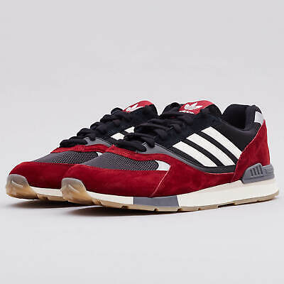 adidas Originals Quesence Mens Trainers Burgundy B37907 ~ SIZES 4-13