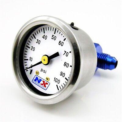 Nitrous Express 15512 Fuel Pressure Gauge