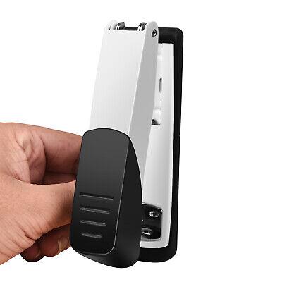 Upgrate Stapler Heavy Duty Black White Office Desktop Multi-function