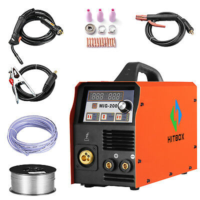 Hitbox Mig Welder Mag Gas Go Gas Lift Tig Stick Welding Machine Arc 3 In1 Welder